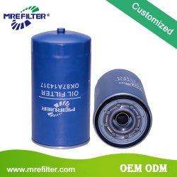 Высокая производительность автомобильных деталей автомобиля оптовая oem масляного фильтра в порядке87A14317