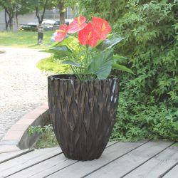 Fo-233 de plástico reforçado o potenciômetro de Flores Decoração Mobiliário de Jardim de fibra de vidro a plantadeira