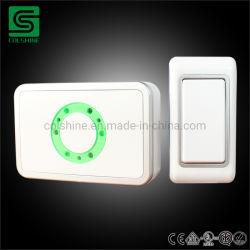 AC Anneau numérique sans fil sonnette Distance longue portée MP3