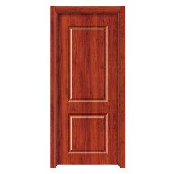 Portello di legno dell'interno dell'ufficio semplice