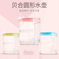 Пластиковый Beihe круглой формы пластиковый чайник воды для бытовых 1.4L