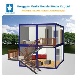 モジュラープレハブの容器の家を構築する中国の贅沢なプレハブのキャンプ