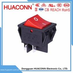 UL/VDE/CCC/Kc interruttori rossi/nero/blu/colore giallo/verde/bianchi di attuatore per gli elettrodomestici