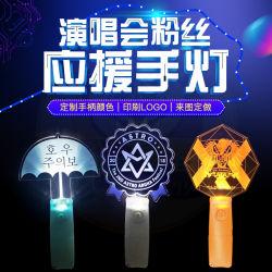 LEIDENE AcrylStok voor het k-Pop Overleg die van de Ster de Lichte OEM van de Stok LEIDENE van de Vorm Fabrikant China toejuichen van de Stok