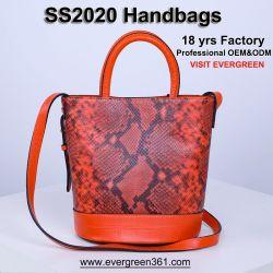 진짜 실제적인 가죽 Sling Bag 여자 여자 마약 밀매인 끈달린 가방 최상 숙녀 패션 디자이너 어깨에 매는 가방 도매 광저우 호화스러운 상표 지갑 공장 OEM