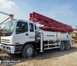 Sany Putzmeister utiliza la bomba de concreto camión 37m 42m