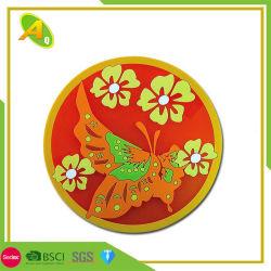 На заводе оптовые продажи с возможностью горячей замены адаптированные мягкие чашки из ПВХ Coaster высокое качество рекламных акрилового пластика нажмите Сухие цветы Coaster (10)