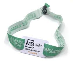 Бесплатные образцы 13.56Мгц ISO NTAG14443A213 NTAG NTAG 215 216 RFID NFC тканого браслет