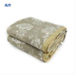 Coperta pesante variopinta delle lane di stampa della coperta del panno morbido della tessile della famiglia