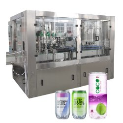 Sunswell Automatic Carbonated Soft Drink Craft Beer Canning Line Pet Aluminum Tin Can FillerおよびSaleのためのSeamer Beverage Packaging Liquid Filling Machine