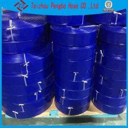 La agricultura de regadío de la bomba de agua blanda Layflat mangueras de agua de PVC