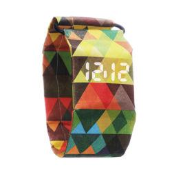 Nuove vigilanze di carta calde del documento di modo dell'orologio di sport LED Tyvex dell'OEM Digital di abitudine dei prodotti