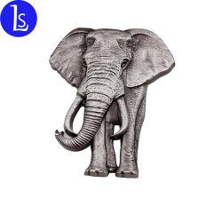 Kundenspezifischer Elefant-Metallkühlraum-Magnet-Aufkleber