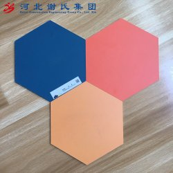 E1接着剤のメラミンは家具のための削片板に直面した