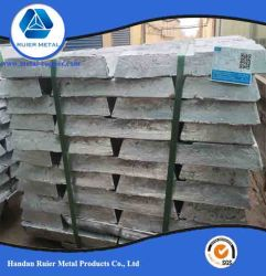 China lingote de Zinco puro 99,995% preço grossista