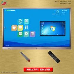 55インチの会合の会議および教室の教育のための対話型のマルチタッチ画面のスマートな電子Whiteboardの表示