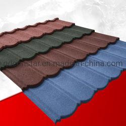 石の建築材料のための上塗を施してある金属の屋根瓦の高品質