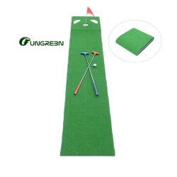 Usine de terrain de golf Tapis Tapis portable mini parcours de golf