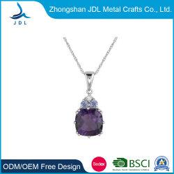 De Halsband van de Tegenhanger van de Oorring van de Nagel van de Juwelen van de Halsband van de Charme van het kristal (17)