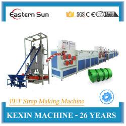 سعر الجملة الكهربائية حزام الحيوانات الأليفة ورقة البلاستيك صناعة آلات مع ماكينة الطرد، رأس مود مزدوج