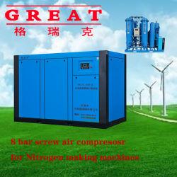 Производитель энергосберегающих Micro-Oil винтовой компрессор для генератор кислорода и азота генератор