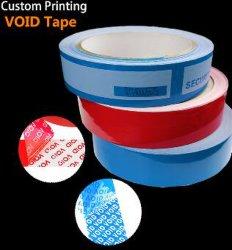 卸し売り低下出荷ボイド開いたタンパーの証拠のシールの保証ボイド開かれたタンパーの明白な反擬似機密保護のパッキングラベルテープなら