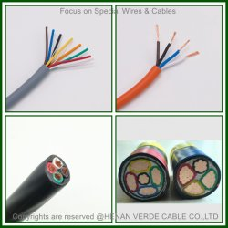 In de fabriek op maat gemaakte koperen geleider PVC of rubberen geïsoleerde draadlassen Elektrische kabels gepantserde elektrische voedingskabel