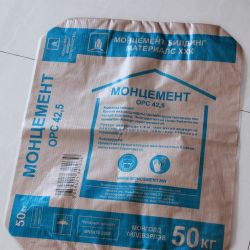 Пластиковой PP из упаковки из полипропилена мешки для цемента кукурузы с PE гильзы цилиндра