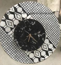 La Chine l'Art de marbre pierre horloge pour la décoration murale