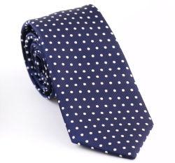 Designer cravate Mens cravate en soie formelle DOT Neck Tie (QD-135)