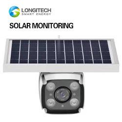 macchina fotografica di Web del PC della scheda di deviazione standard del IP del CCTV Digital WiFi di mini di visione notturna di 4G dell'allarme obbligazione visiva esterna impermeabile a pile solare di IR video