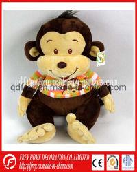 Regalo de soft de juguetes de peluche mono con tshirt