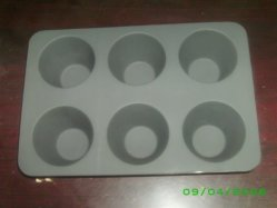 Muffin de silicona de bajo precio Pan