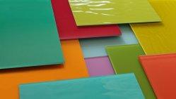 6mm、装飾の壁のWindowsのカーテン・ウォールのための青く緑、8mm青銅色、ピンク、明確な反射暗い灰色ガラスの上塗を施してあるガラス