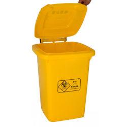 240L Пластиковые колеса на открытом воздухе в мусорное ведро мусора приемники для больницы