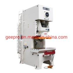 Stock bastidor C 100ton 125t 200ton prensa eléctrica de la máquina para la caja de metal