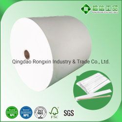 Gaststätte-Nahrungsmittelgrad Wegwerf-PET überzogene Papiertüten, die Ess-Stäbchen-Löffel in der riesigen Rolle packen