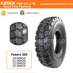 Еэк точка верхней части марки бескамерные все стальные радиальные шины TBR Самосвал для тяжелого режима работы шины (1200R20, 13R22,5 315/80R22,5 11R22,5 295/75R 22,5)