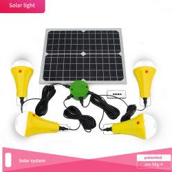 De zonne Draagbare Energie van het Licht/van het Zonnestelsel - Systeem van de ZonneMacht van de besparing Licht 25W sre-98g-4