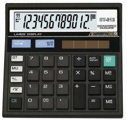 Большой дисплей 12 цифр калькулятор с электронным управлением