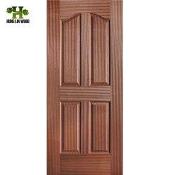 Modernas habitaciones Dormitorio Diseño de la puerta de la piel de la puerta de moldeado de HDF