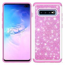 All'ingrosso per il coperchio mobile di lusso per la cassa Shockproof del telefono di Bling della scintilla di scintillio di Samsung S10+ per le signore delle donne delle ragazze