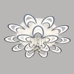 15 Jefes de diseño creativo de Moonlight LED lámpara de techo de la luz de la habitación con control remoto