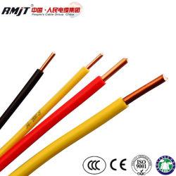 Retardateur de flamme de la construction résidentielle isolation PVC Âme en cuivre du fil électrique multibrins BV/BVV/RV/RVB/RVS/RVB Câble flexible de contrôle