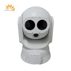 El seguimiento automático de imágenes térmicas militar Tri-Spectrum óptica de la cámara de la plataforma electrónica