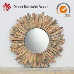 Из естественной древесины интерьера деревянные стены наружного зеркала заднего вида (LH-M170709)