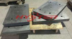 Professionele Vervaardiging van de BimetaalPlaat 63HRC van de Slijtage voor Helling en Vultrechter