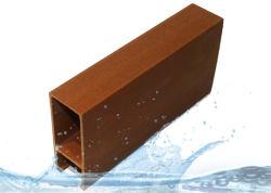 Os painéis do forro de PVC madeira ecológica, secções de tecto decorativa de PVC / Tubo / Tiras