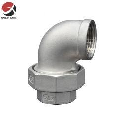 JIS ISO DIN ASME rosca macho fêmea europeu de fundição de aço inoxidável 304 316 Raccord União Giratória Cotovelo Bathromm Wc materiais de tubulação de construção