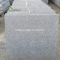 Pedreira própria granito cinza G343 Painel de parede de azulejos do piso de pedra de Pavimentação